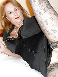Mature stockings, Horny, Milf stocking, Horny mature