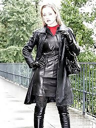 Latex, Pvc, Leather, Boots, Boot, Mature leather