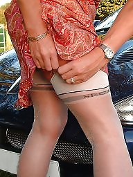 Mature upskirt, Upskirt, Ladies, Mature stocking, Upskirt mature, Mature lady
