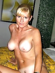 Tanned, Mature tits, Tan lines, Mature nude