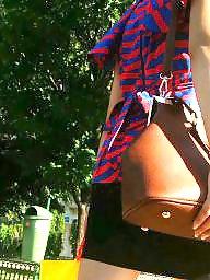 Skirt, Voyeur, Mini skirt, Spy cam, Skirts