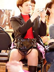 Pantyhose, Skirt, Upskirt, Pantyhose upskirt, Up skirt, Amateur pantyhose