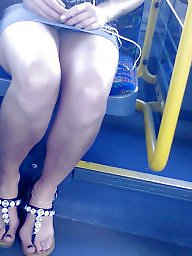 Feet, Legs, Skirt, Candid, Turkish feet, Mini skirt