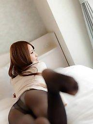 Pantyhose, Girl, Asian japanese, Asian