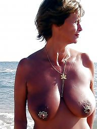 Mature amateur, Sun, Sea