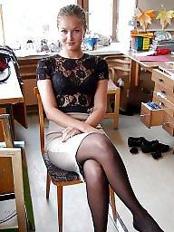 Upskirt, Nylons, Upskirt stockings, Nylon stockings