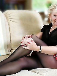 English, Stocking mature, English mature