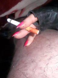 Smoking, Smoke, Milf blowjob
