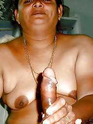 Aunty, Big cock, Bbw aunty, Auntie, Big cocks, Mature boob