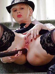 Mature stockings, British mature, British, Stockings mature, Police, Mature british