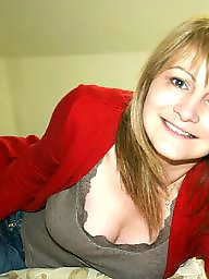 Red, Mature lady, Red mature