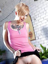 Emo, Tattoo, Girls, Teen tits, Teen girls, Punk