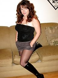 Boots, Tights, Stocking mature, Boot, Mature boots