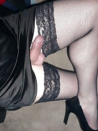 Crossdresser, Crossdress, Stockings, Crossdressers, Crossdressing