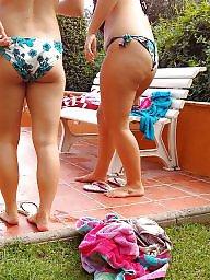 Bikini, Butt, Teen bikini, Big butts, Butts, Bikini beach