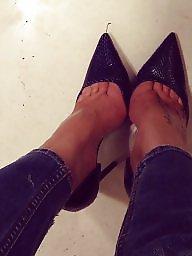 Milf, Heels, Milf feet, Amateur feet