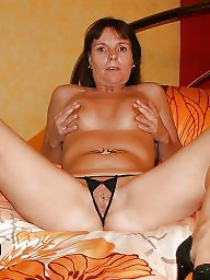 Mature, Panties, Panty, Open, Amateur mature, Mature panties