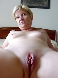 Mature pussy, French mature, Shaved, Amateur milf, French, Housewife