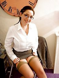 Satin, Stockings, Nylons