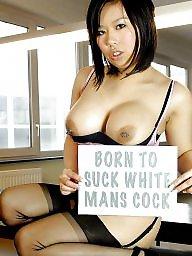 Blowjobs, Suck, Sucking, Interracial, Sucking cock