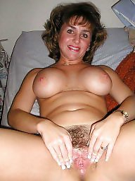 Lady, Hairy mature