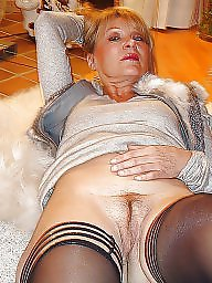 Lady, Sexy stockings, Sexy lady, Mature lady, Mature sexy