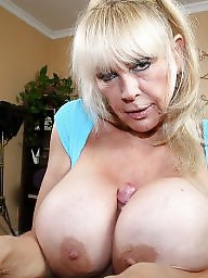 Grandma, Big tits, Grandmas, Mature tits, Mature big tits, Blonde mature