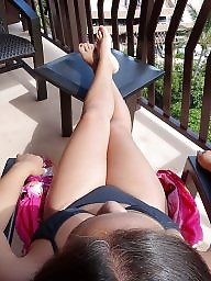 Feet, Milf feet, Brunette milf