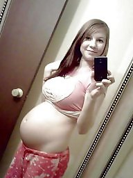 Pregnant, Preggo, Hot teen