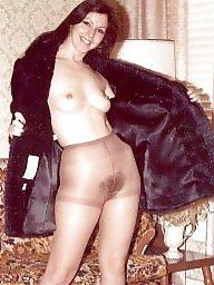 Retro, Stockings, Vintage hairy, Stocking retro, Stocking hairy, Hairy stockings