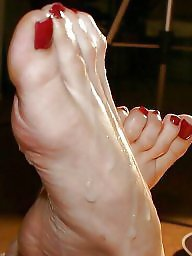 Feet, Mature feet, Stocking mature, Stocking feet
