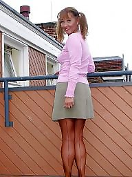 Outdoor, Outdoors, Legs stockings, Show
