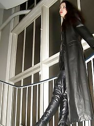 Boots, Latex, Pvc, Leather, Mature porn, Mature leather