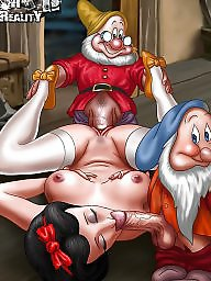 Toons, Interracial blowjob
