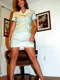 Nylon, Nylons, Mature nylon, Nylon mature, Nylon stockings, Mature stockings