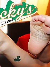 Feet, Voyeur, Redhead