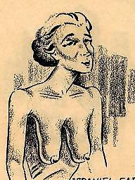Vintage cartoons, Comix