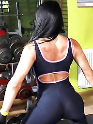 Serbian, Female, Bodybuilder, Asses