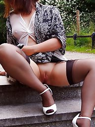 Upskirt, Upskirt stockings, Upskirt mature, Mature upskirt