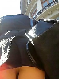 Nylon, Skirt, Spy, Romanian, Nylon upskirt