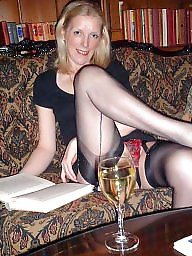 Vintage mature, Mature in stockings
