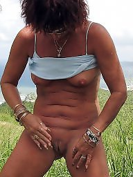 Beach, Public, Mature beach, Mature flashing, Mature flash, Beach mature