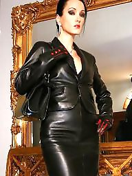 Leather, Latex, Boots, Pvc, Mature boots, Mature pvc
