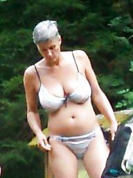 Bikini, Mature bikini, Mature busty, Busty mature