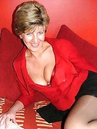 Stocking, Red, Mature lady, Mature stockings, Lady, Uk mature