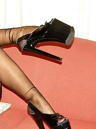 Femdom, Heels, Stockings heels