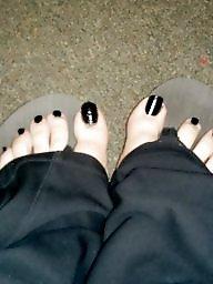 Black, Toes, Work