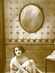 Bath, Lady, Bathing, Vintage amateur, Vintage amateurs