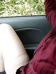 Stockings, First, Upskirt stockings