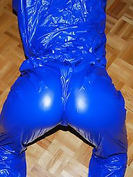 Sauna, Nylon, Suit, Nylon ass, Amateur nylon